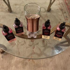 Bath & Body Works Copper Wallflower Plug/4 Bulbs